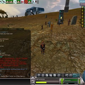 Project Entropia Landgrab 2005 Update Message