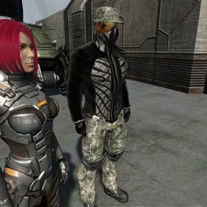 The Battle Simulation armor