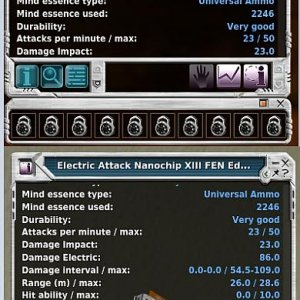 Electric Attack Nanochip XIII FEN Edition