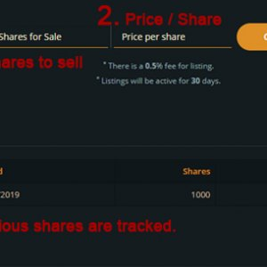 Withdraw Shares
