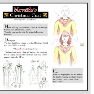 My propose for Christmas design contest 2009.